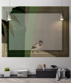 Framed Wallpaper BIRD