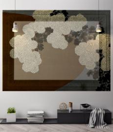 Framed Wallpaper SUMMER FLOWERS