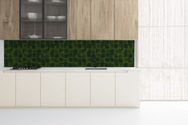 KitchenWalls BOTTLE GREEN - 600 x 60 cm