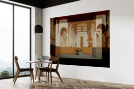 Framed Wallpaper CHURCH