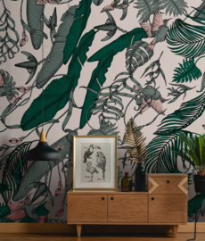 TROPICAL FOLIAGE by Feanne