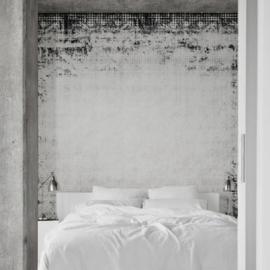 WALL CARPET black & white