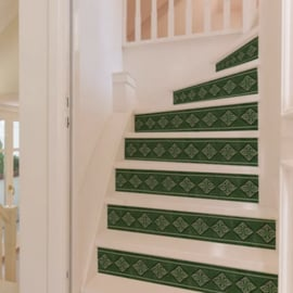 Stair Sticker GREEN TILE