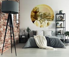 Framed Wallpaper cirkel STILL LIFE