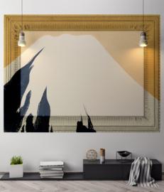 Framed Wallpaper MOUNTAIN