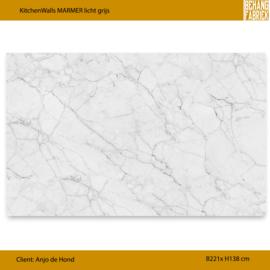 KitchenWall MARMER 221x138 cm