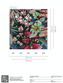 CARIOCA 18519-01 B210xH240 (wordt 235x250 cm)