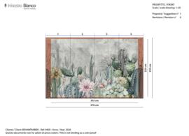 CEREUS EQ dekor fiber glass - 335 x 225 cm