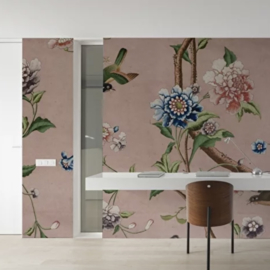 CHINOISERIE pink 400x270 cm