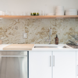 Backsplash panel MARBLE BEIGE
