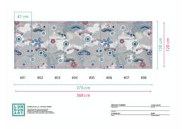 KYOTO 10MW_4 | B368 x H120 cm (wordt 376 x 130 cm)