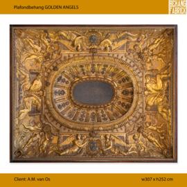 Golden Angels - 307 x 252 cm