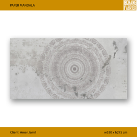 PAPER MANDALA - 530 x 275 cm