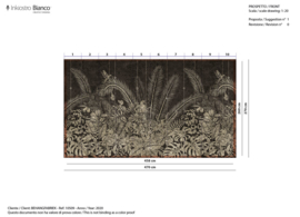 Goldenwall TEMPURA - 458 x 260 cm