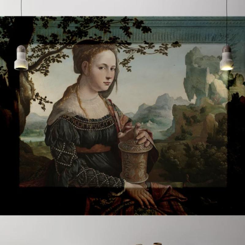 Framed Wallpaper WOMAN