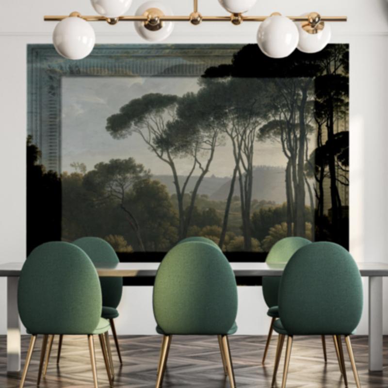 Framed Wallpaper FOREST