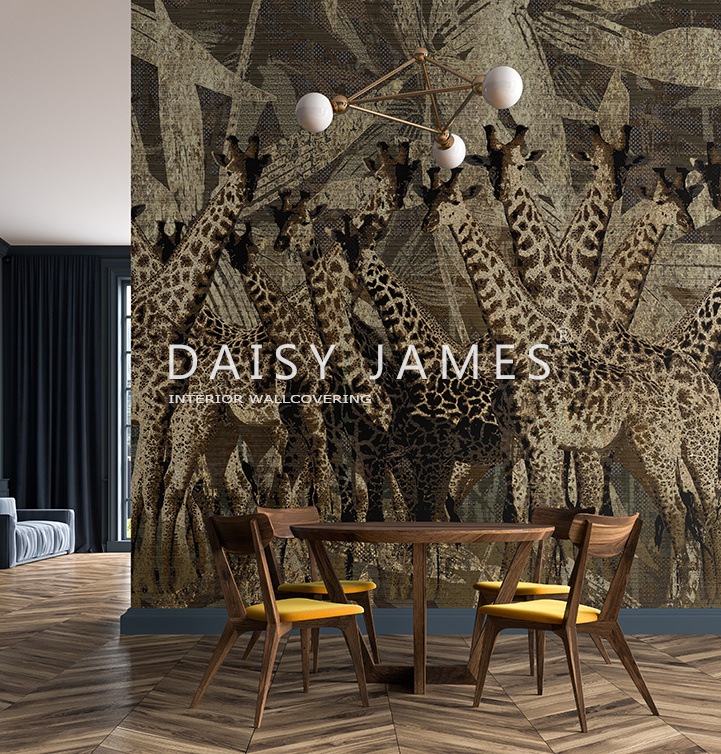 Daisy James THE GIRAFFES
