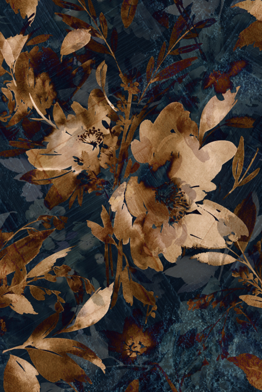 Vloerkleed MIDSUMMER FLOWER by Puckb