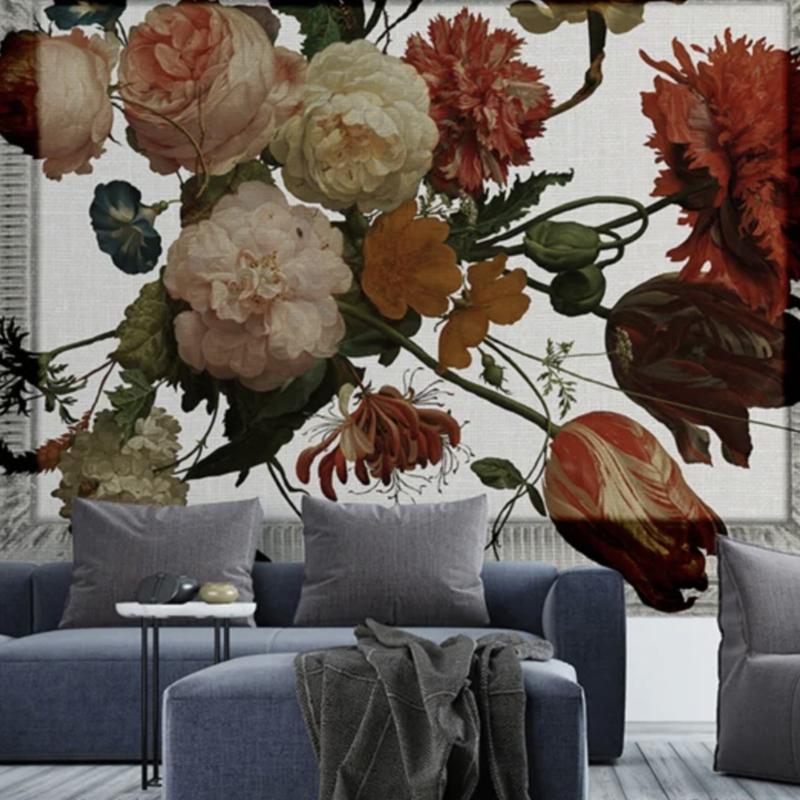 Framed Wallpaper BOUQUET