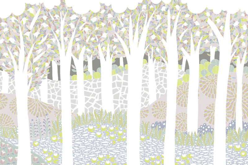 Bird Forest - 390x260 cm