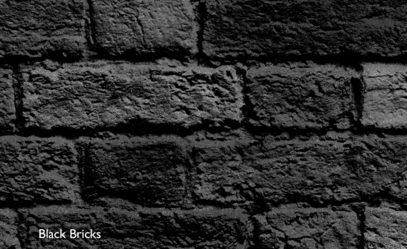 BLACK BRICKS