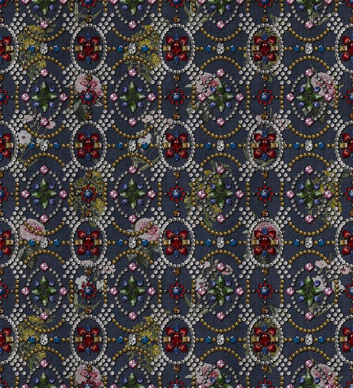LondonArt FLOWERS & DIAMONDS