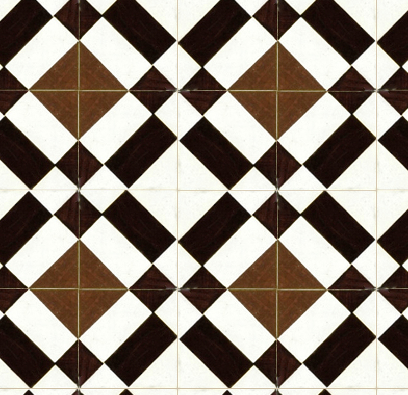 1464 - BROWN TILE