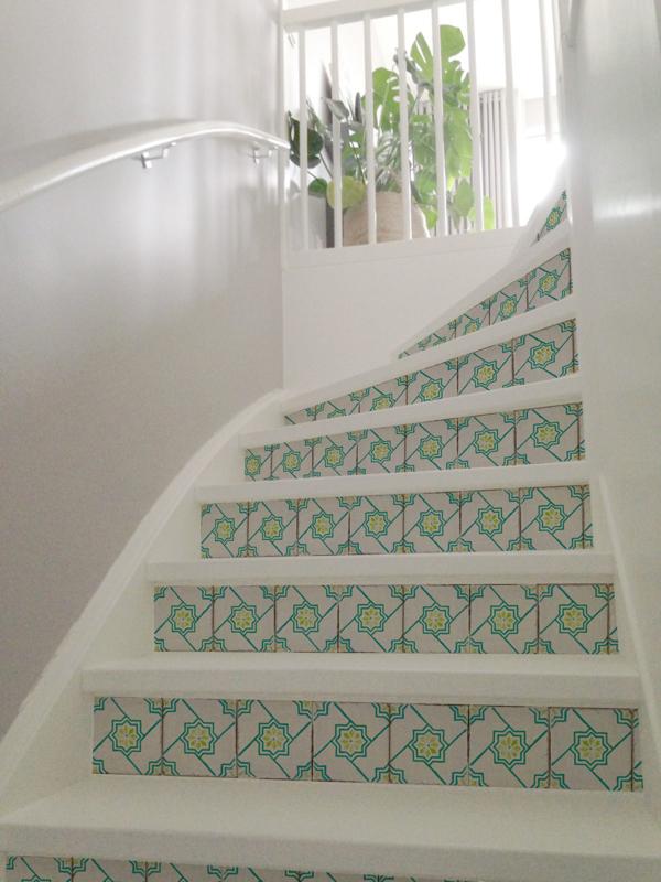 Stair Sticker RETRO STAR