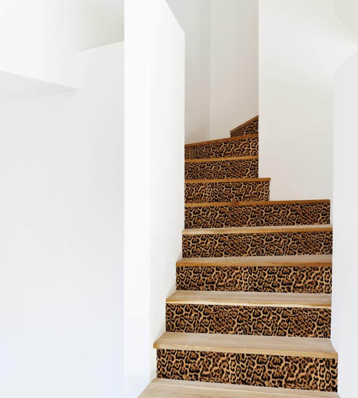 Stair Sticker LEOPARD