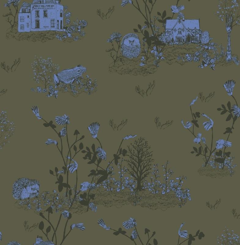 Woodlands Khaki Blue (classic or magnetic)