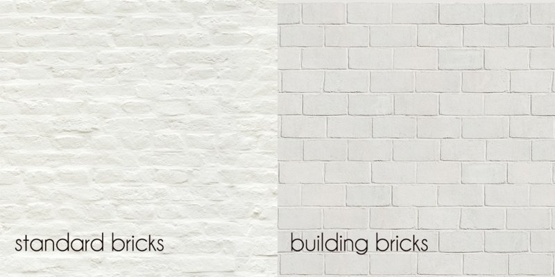 White bricks painted 1443 (2 dessins)