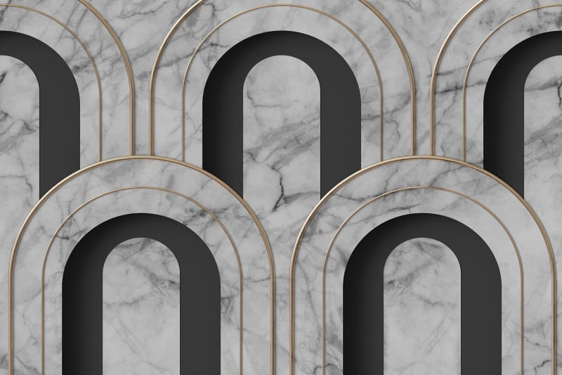 Rebelwalls ARCH DECO Marble