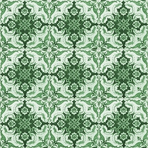 1448 - AZULEJOS green