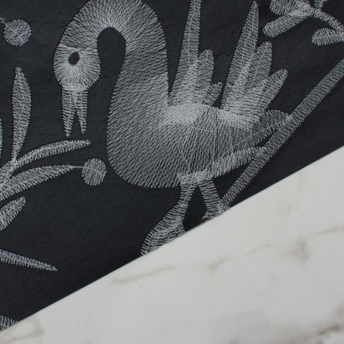 AVES embroidered Black