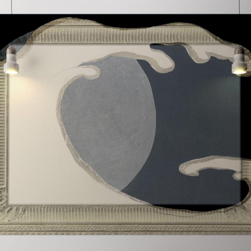 Framed Wallpaper WAVE