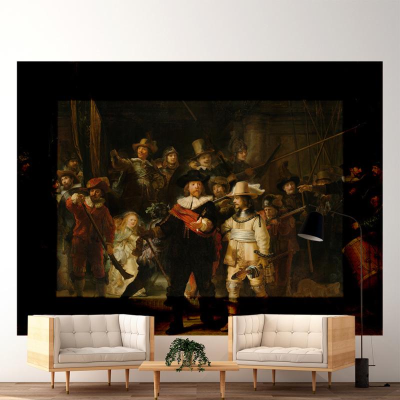 Framed Wallpaper NACHTWACHT