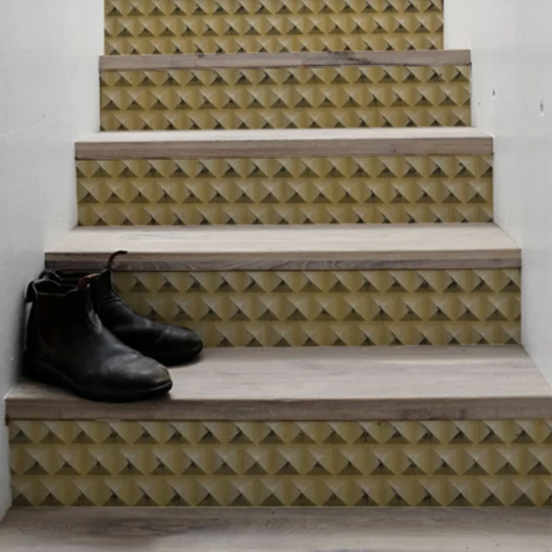 Stair Sticker GOLD PYRAMIDS