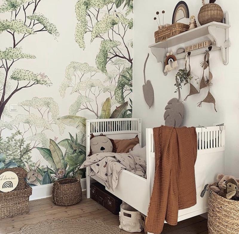 Forest Nursery Wallpaper