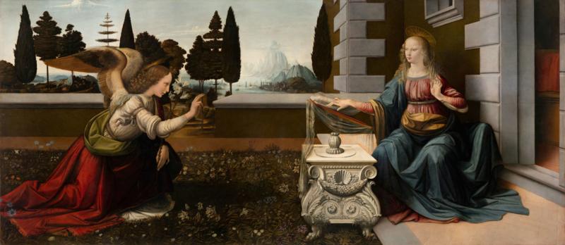 ANNUCIAZIONE - Leonardo da Vinci