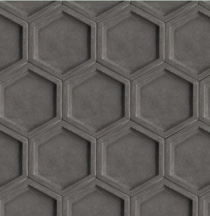 HEXAGON concrete tile