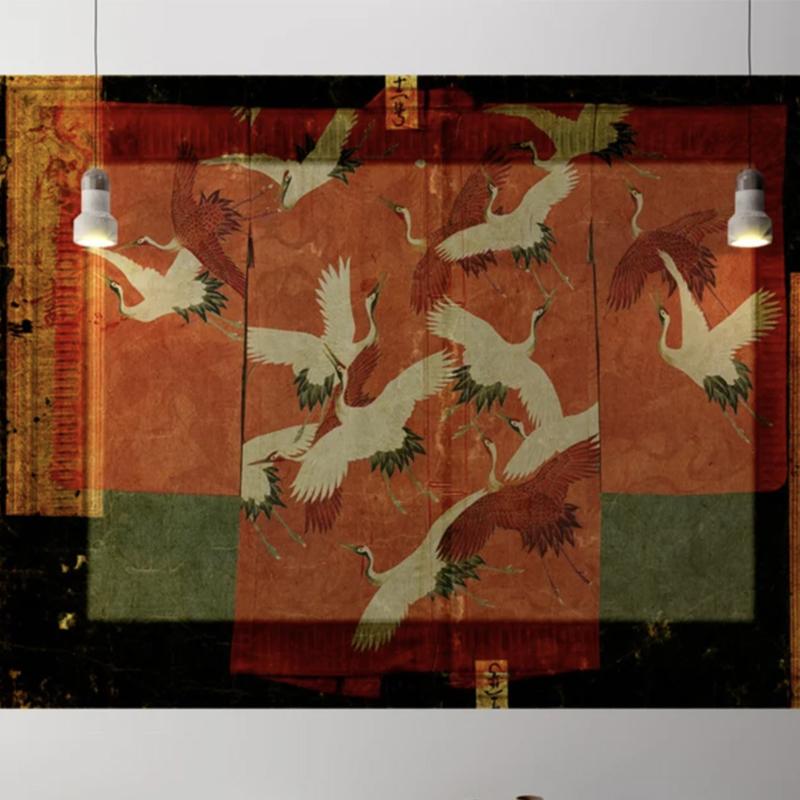 Framed Wallpaper KIMONO