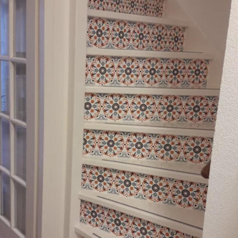 Stair Sticker ORANGE