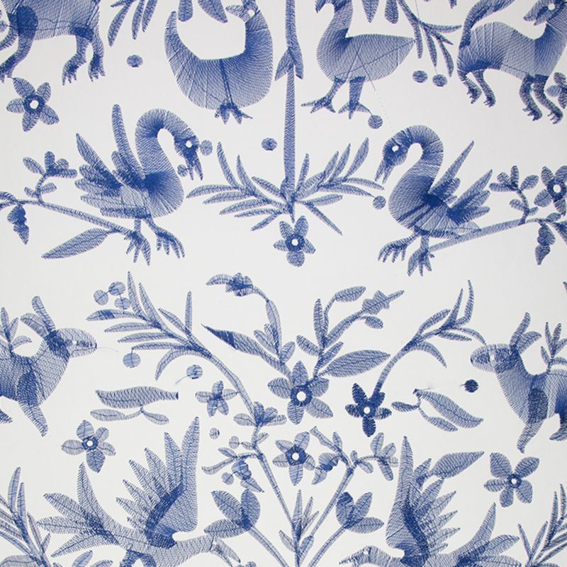 AVES embroidered Navy