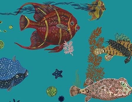 Sous la Mer blue