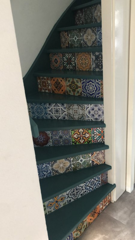 Stairs Tile Mix