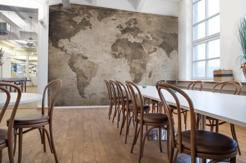 Rebelwalls WORLD MAP