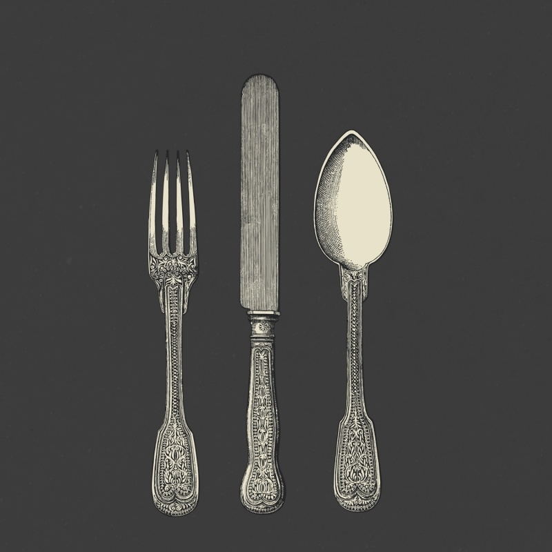 1427 - CUTLERY  - 2 colours