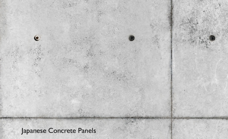 JAPANESE CONCRETE PANELS