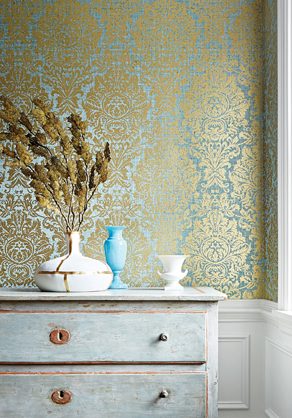 Thibaut KINGSBURY DAMASK (4 color)