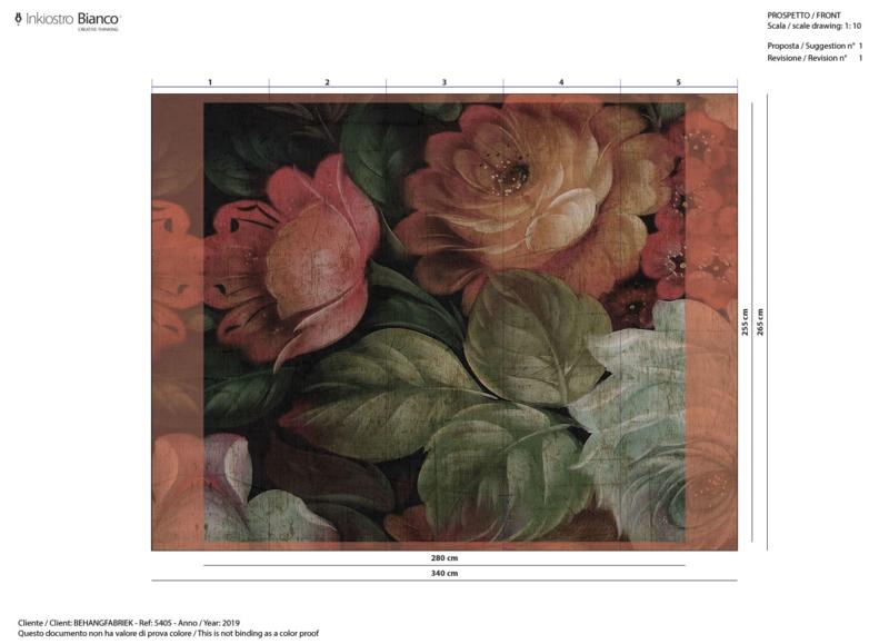 LIBERTY - afm. b280 x h255 cm